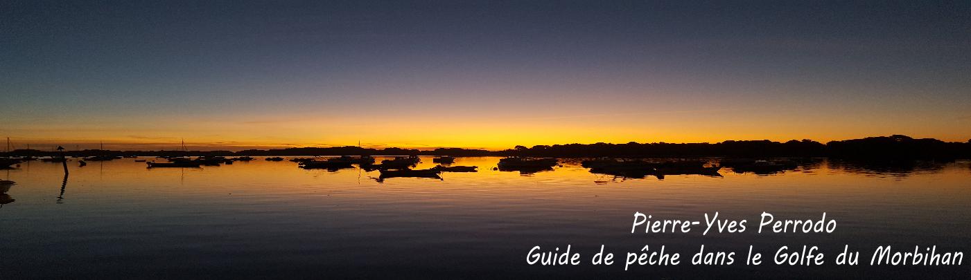 PY Perrodo guide de pêche dans le Golfe du Morbihan