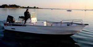 Pierre-Yves Perrodo guide de pêche dans le Golfe du Morbihan - guidagepechemorbihan
