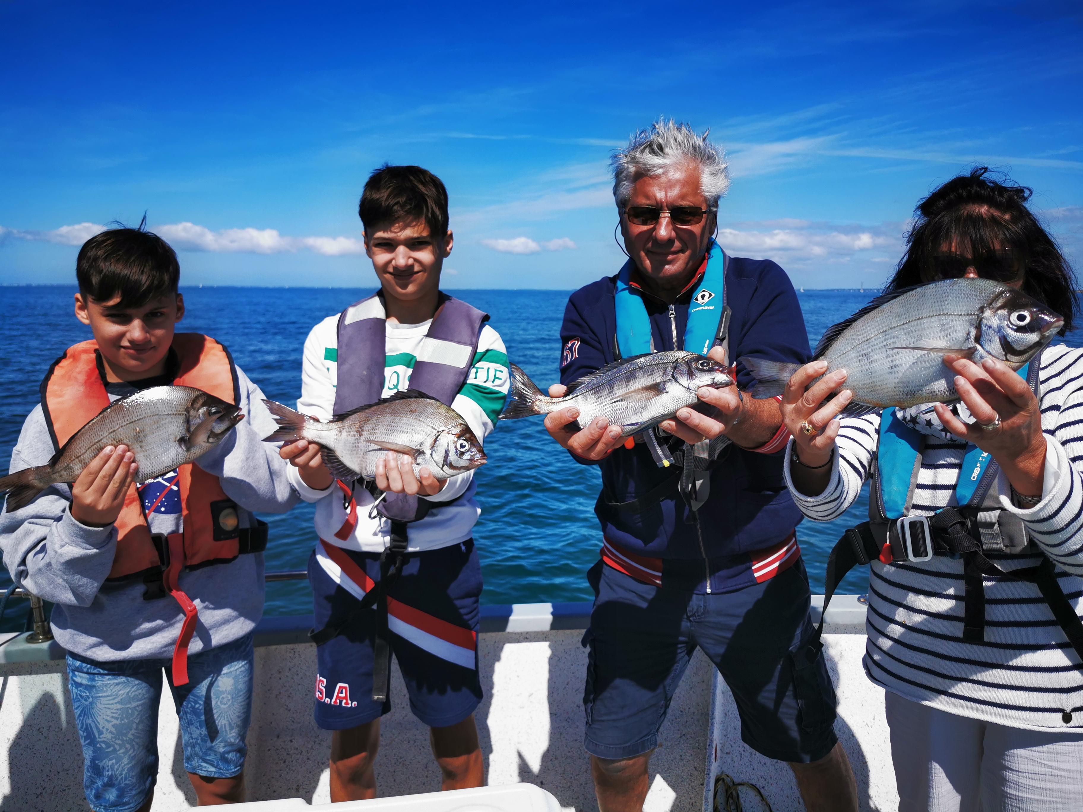 Pierre-Yves Perrodo guide de pêche Golfe du Morbihan