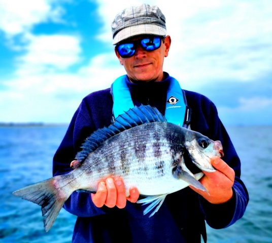 Pierre-Yves Perrodo guide de pêche, golfe du morbihan