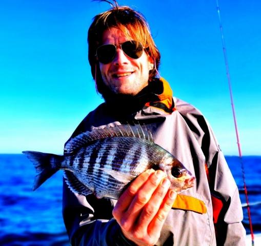 Pierre-Yves Perrodo, guide de pêche, golfe du morbihan
